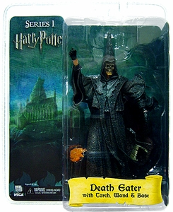 NECA Harry Potter and the Goblet of Fire 7 Inch Action Figure Death Eater [Skull Mask] BLOWOUT SALE!