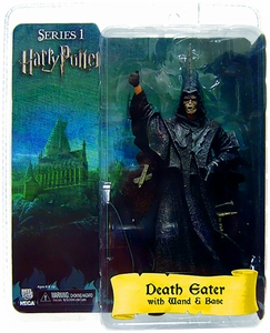 NECA Harry Potter and the Goblet of Fire 7 Inch Action Figure Death Eater [Flesh Mask]