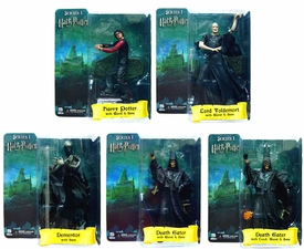 NECA Harry Potter and the Goblet of Fire Set of 5 Action Figures [Harry, Lord Voldemort, Dementor & 2x Death Eaters]