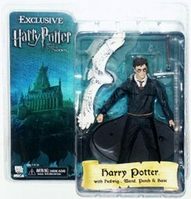 NECA Harry Potter 2007 SDCC San Diego Comic-Con Exclusive Action Figure Harry with Hedwig