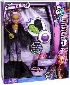 Monster High Ghouls Rule Deluxe Doll Clawdeen Wolf