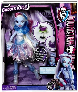 Monster High Ghouls Rule Deluxe Doll Abbey Bominable