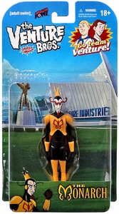 Bif Bang Pow! Venture Bros. 3 3/4 Inch Series 1 Action Figure The Monarch