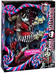 Monster High Sweet Screams DELUXE Doll Frankie Stein