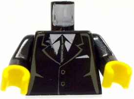 LEGO LOOSE Torso Black Suit Jacket