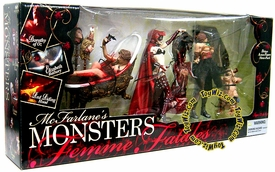 McFarlane Toys Exclusive Greatest Women Femme Fatale Action Figure 3-Pack Dorothy, Bathory & Red Riding Hood DAMAGED PACKAGE!