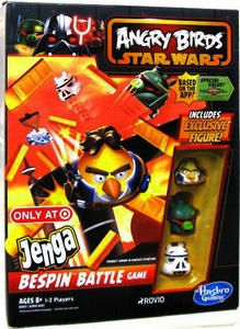 Angry Birds Star Wars Exclusive Jenga Bespin Battle Game