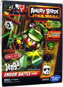 Angry Birds Star Wars Exclusive Jenga Endor Battle Game