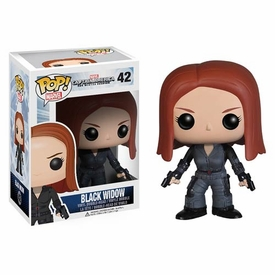 Funko POP! Marvel Winter Soldier Vinyl Bobble Head Black Widow