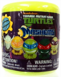 Teenage Mutant Ninja Turtles Mash'ems Squishy Mini Figure Pack [1 Random Figure]