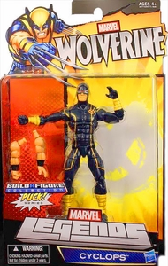Marvel Wolverine Legends Exclusive Action Figure Cyclops [Build Puck Piece!]