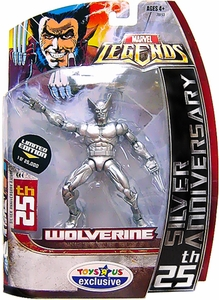 Marvel Legends 25th Silver Anniversary Action Figure Wolverine