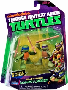 Nickelodeon Teenage Mutant Ninja Turtles Action Figure 2-Pack Ninjas in Training [Leonardo & Donatello]