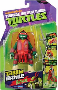 Nickelodeon Teenage Mutant Ninja Turtles Action Figure Throw N Battle Raphael