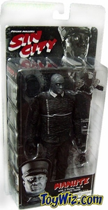 NECA Sin City Movie Series 1 Action Figure Manute (Michael Clarke Duncan) [Black & White]
