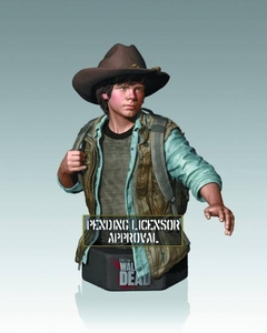 Walking Dead TV Mini-Bust Carl Grimes Pre-Order ships September