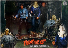 NECA Friday the 13th Cult Classics 25th Anniversary Action Figure Boxed Set [Pamela Voorhees & Sack-Head Jason]