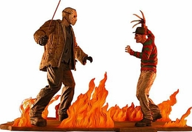 NECA Limited Edition Statue Freddy Krueger Vs. Jason Voorhees Only 650 Made!