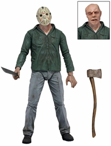 NECA Friday the 13th Series 1 Action Figure Jason Voorhees [Regular Version] [Machete & Axe]