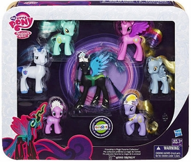 My Little Pony Exclusive Figure 7-Pack Friendship is Magic Favorite Collection [Queen Chrysalis, Princess Cadence, Lyrica Lilac, Shining Armor, Diamond Dazzle Tiara, Lyra Heartstrings & Derpy]