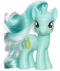 My Little Pony 3.5 Inch LOOSE Collectible Pony Lyra Heartstrings