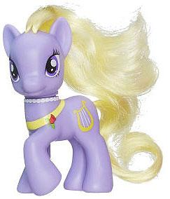 My Little Pony 3.5 Inch LOOSE Collectible Pony Lyrica Lilac
