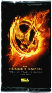 NECA The Hunger Games Movie Trading Cards Pack [6 Cards]