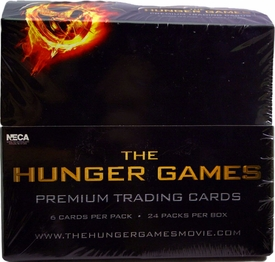 NECA The Hunger Games Movie Trading Cards Box [24 Packs]