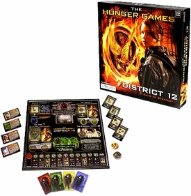 NECA The Hunger Games District 12 Strategy Board Game