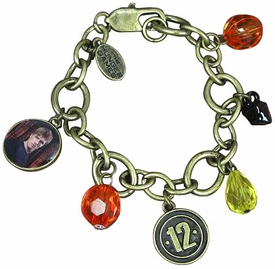 NECA The Hunger Games Peeta District 12 Charm Bracelet