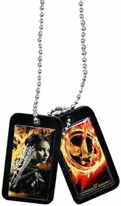 NECA The Hunger Games Katniss Dog Tags