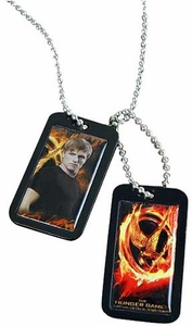 NECA The Hunger Games Peeta Dog Tags