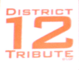 NECA The Hunger Games District 12 Tribute Logo Stamp