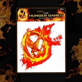 NECA The Hunger Games Mockingjay Fire Laptop Decals
