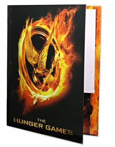 NECA The Hunger Games Burning Mockingjay Folder