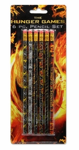 NECA The Hunger Games 6-Piece Pencil Set