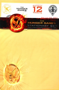 NECA The Hunger Games Katniss & Peeta District 12 Stationary Set