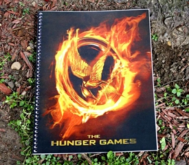 NECA The Hunger Games Burning Mockingjay Lenticular Notebook