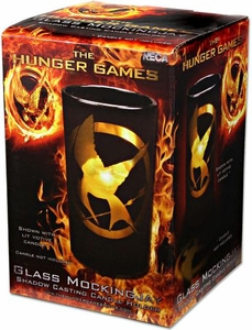 NECA The Hunger Games Mockingjay Shadow Votive Glass Candle Holder