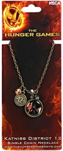 NECA The Hunger Games Katniss District 12 Single Chain Necklace