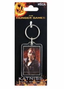 NECA The Hunger Games Katniss Everdeen Lucite Keychain