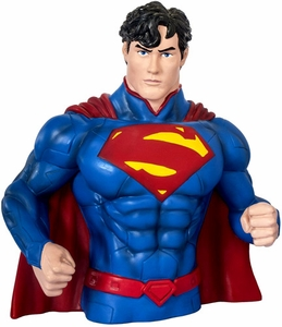 Monogram DC Comics New 52 Bust Bank Superman BLOWOUT SALE!