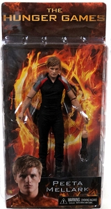 NECA The Hunger Games Movie Series 2 Action Figure Peeta Mellark [Training Outfit]
