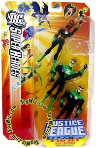 DC Super Heroes Justice League Action Figure 3-Pack Green Lantern Corp. (Kyle Raynor, Katma Tui & Arkis Chummuck)