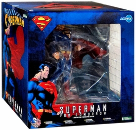 DC Comics Kotobukiya ArtFX Statue Superman For Tomorrow New!