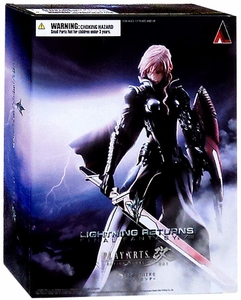 Final Fantasy XIII Play Arts Kai Action Figure Lightning Returns New!