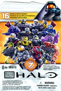 Halo Mega Bloks Series 7 Minifigure Mystery Pack [1 RANDOM Mini Figure]