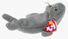Ty Beanie Baby Slippery the Seal