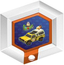 Disney Infinity Series 2 Power Disc Pizza Planet Delivery Truck [6 of 20]