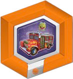 Disney Infinity Series 2 RARE Power Disc Electric Mayhem Bus [18 of 20]
